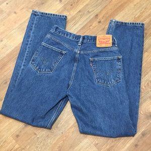 Levi's 505 Blue Jeans